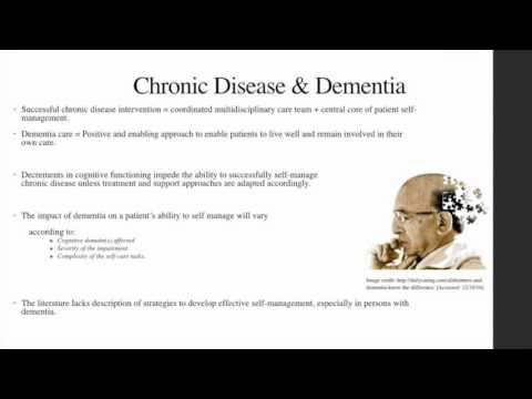 Chronic disease self-management support of clinicians Video Abstract ID 121626