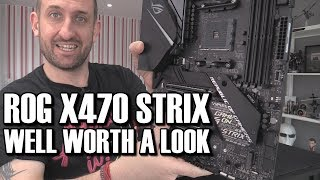 Asus ROG X470 Strix F Motherboard Review