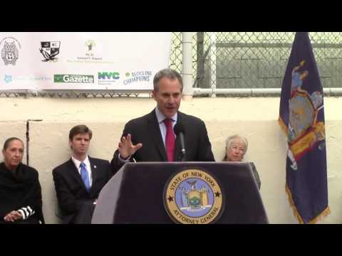 A.G. Schneiderman Announces Launch Of Greenpoint Eco-Schools