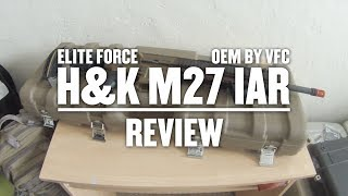 Elite Force H&K M27 IAR by VFC review