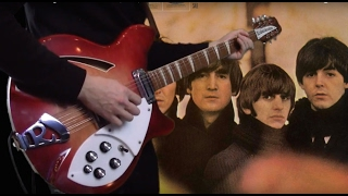 What You're Doing - The Beatles - Guitar, Bass, Acoustic and Drum Cover