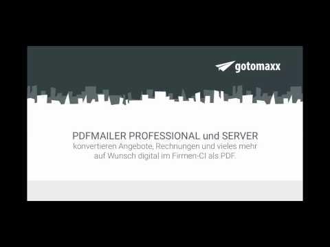 Briefpapier Erstellung Mit Dem PDFMAILER 6 - Gotomaxx