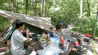 Camping At Rocky Gąp State Park - 07/2019, Maryland USA.