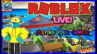Roblox #91 |⭐️ IHRE GAMES SPIELEN! ⭐️ | LIVE | (sjk Livestreams #313)