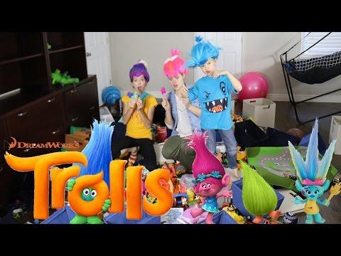 Trolls Wreck the Room Challenge