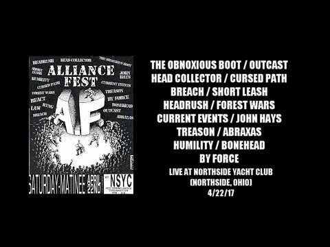 alliance fest 2017 live at the northside yacht club (northside, ohio) 4/22/17