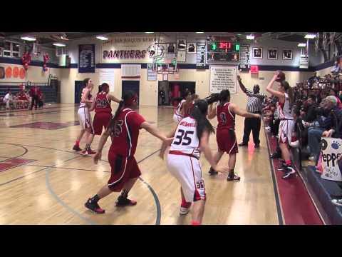 San Joaquin Memorial High School Fresno Girls Varsity vs Sanger