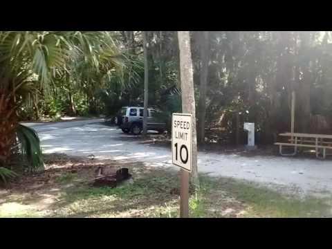 Hanna Park Beach and Campground, Jacksonville (Mayport) Florida