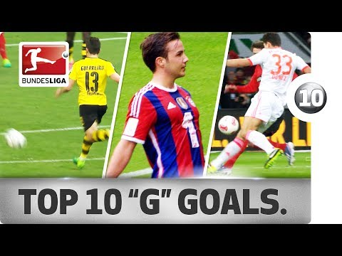 "Top 10 Goals - Players with ""G"" - Götze, Gomez, Grafite & Co."