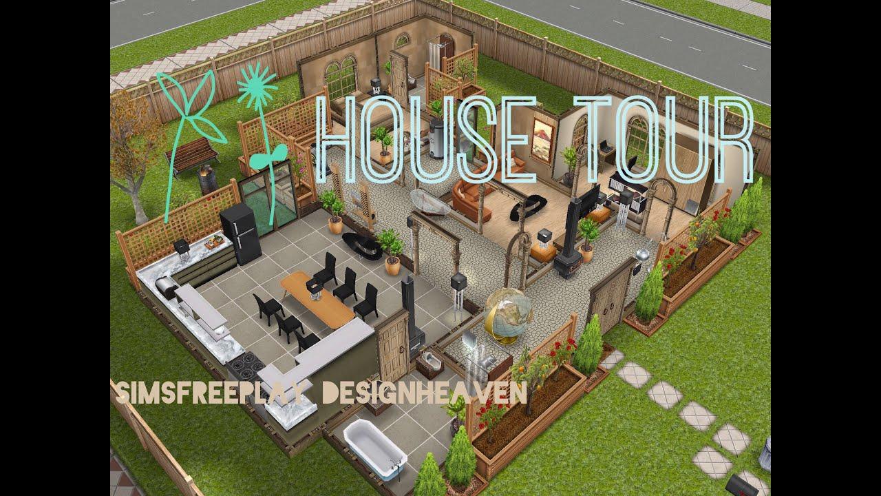 Sims Freeplay House Tour // Eco Friendly House