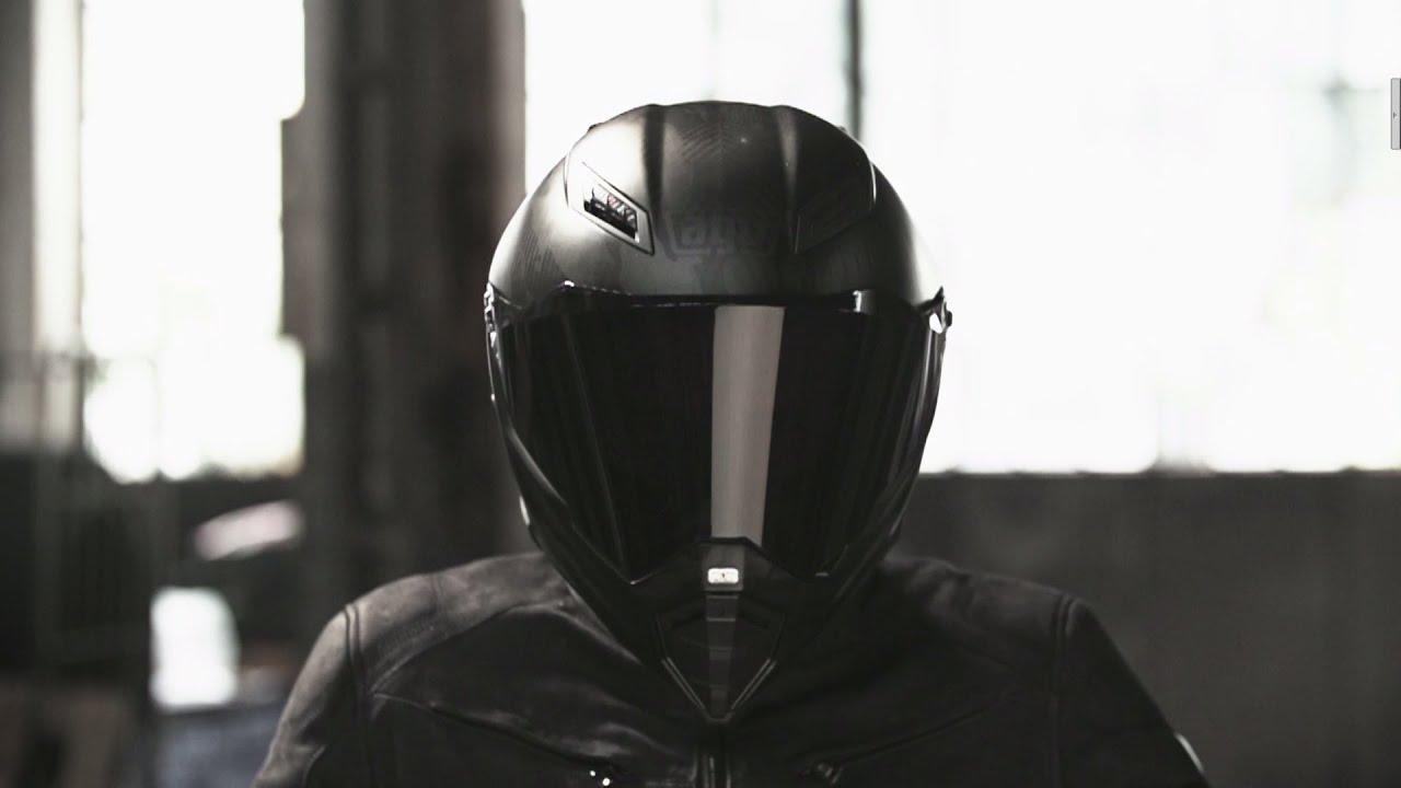 NEW AGV AX-8 DS EVO Matte Carbon Helmet