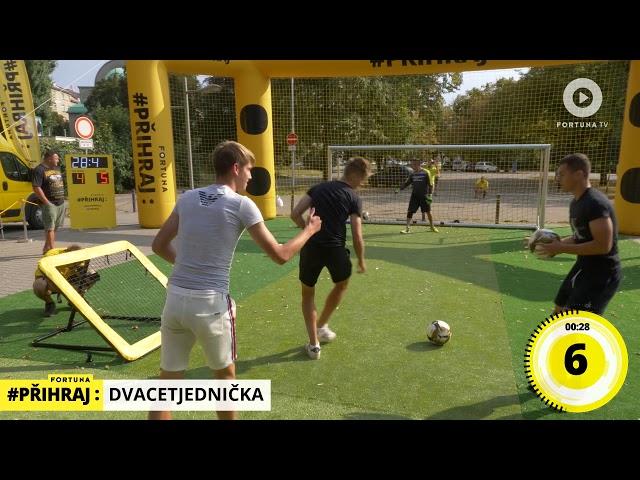 Nejlepší tým Fortuna fotbalové st?elnice v Olomouci
