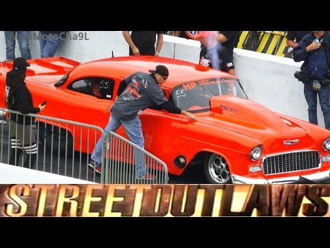 Street Outlaws No Prep KINGS Mike Murillo vs Chuck Parker 55
