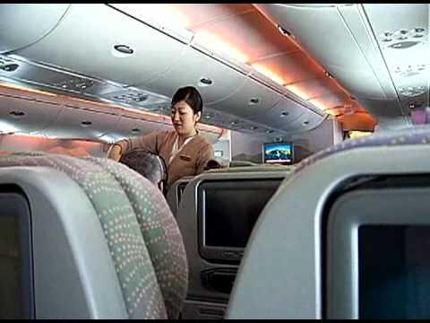 Emirates A380, Dubai-Sydney flight review - YouTube