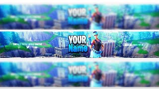 [FREE] FORTNITE YOUTUBE BANNER VOLLEY GIRL SKIN BANNER PSD DOWNLOAD