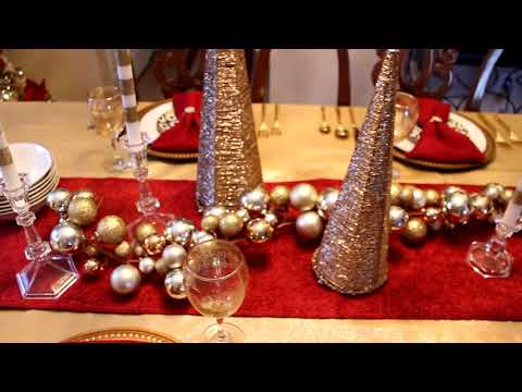 Family Traditions & Christmas Tablescapes 2017!!!