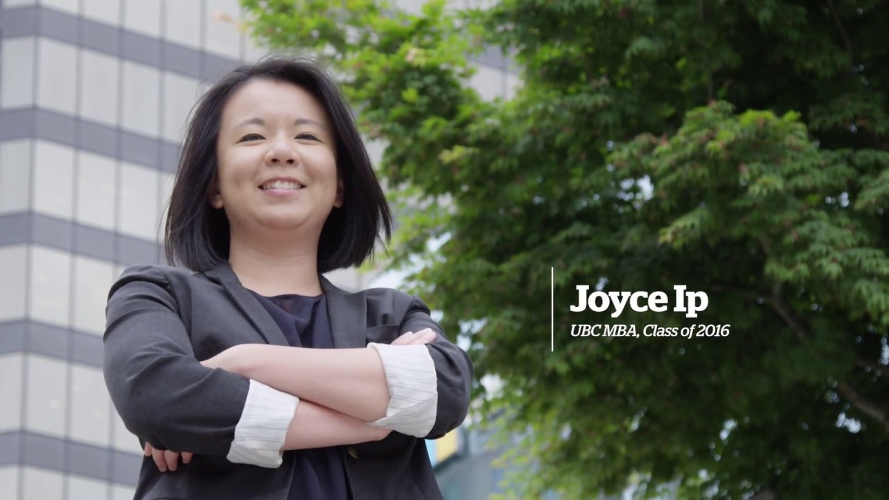Video thumbnail for Meet Joyce Ip - UBC Professional MBA
