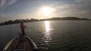 Bass fishing near Alexandria MN