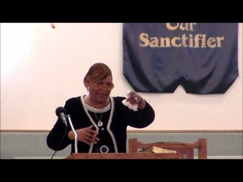 Elder Tracy Brown preaching at GCT on 12/22/2013.