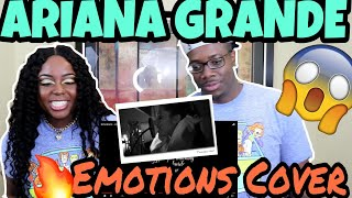 ariana grande emotions cover couple reacts