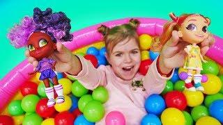 Ляльки сюрприз - Hairdorables. Розпакування Хэрдораблс серія 2. Відео для дівчаток
