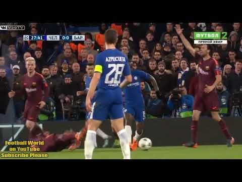 Chelsea x Barcelona 1x 1 20 02 2018 HD