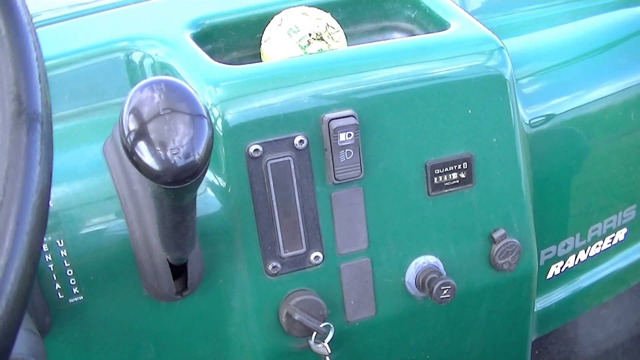 02 polaris ranger 500 switch is bad cutting out problem fixed  [ 1280 x 720 Pixel ]