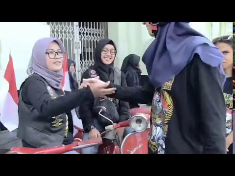 Iklan Kirab Merah Putih Vespa Antique Club Indonesia XVIII