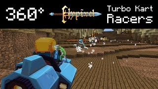 Minecraft - Turbo Kart Racers in 360 Degrees! 4K