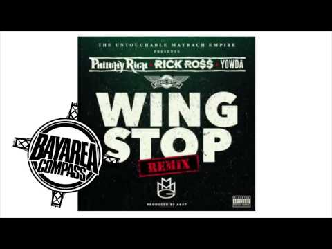 Philthy Rich ft. Rick Ross & Yowda - Wing Stop Remix [BayAreaCompass] (Prod by AK47) 50Cent Diss