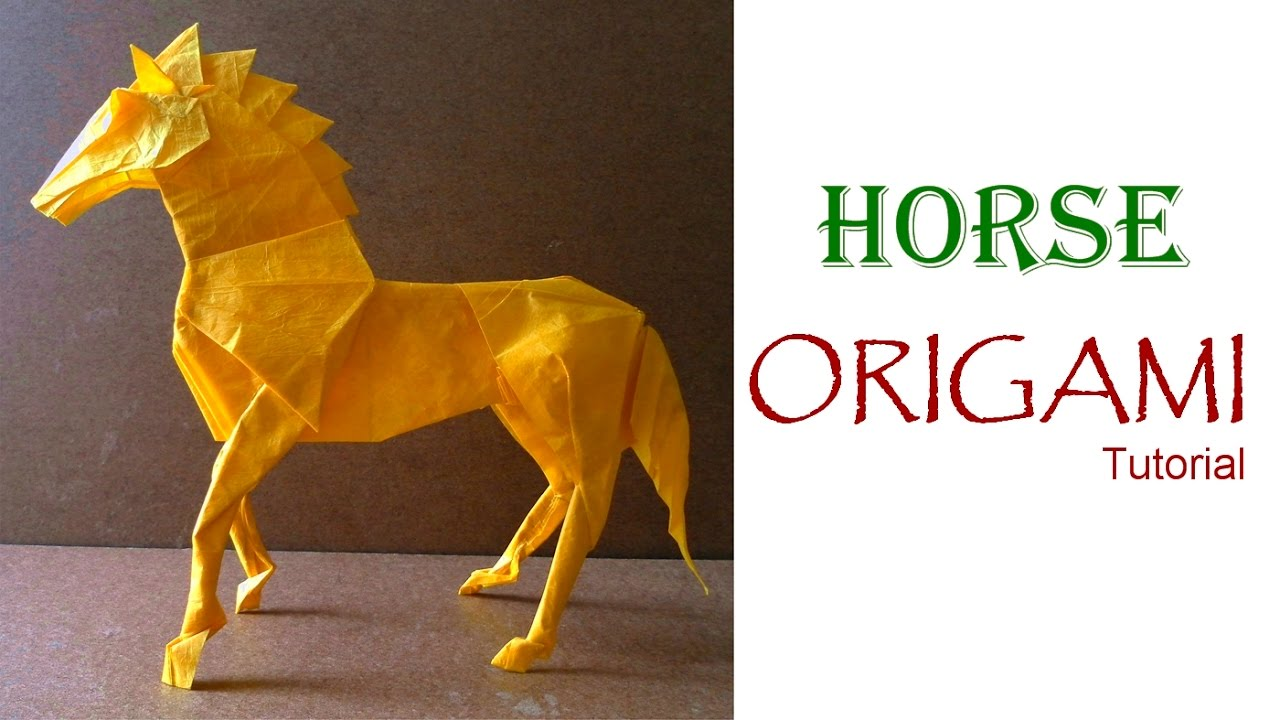 Stunning Origami Horse Instructions (With images) | Origami horse ... | 720x1280