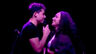 Anthony Ramos sings to Jasmine Cephas Jones