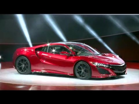 Next-Generation Acura NSX Unveiled at Detroit Auto Show