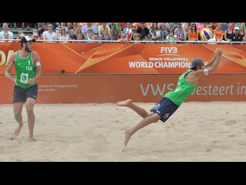 Nicolai/Lupo (ITA) vs. Huber A./Seidl Rob. (AUT) - Rotterdam - Men World Championships 2015