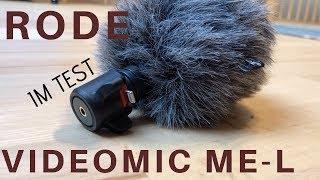 RODE VideoMic Me-L im Härtetest - Was kann das Aufsteckmikro?