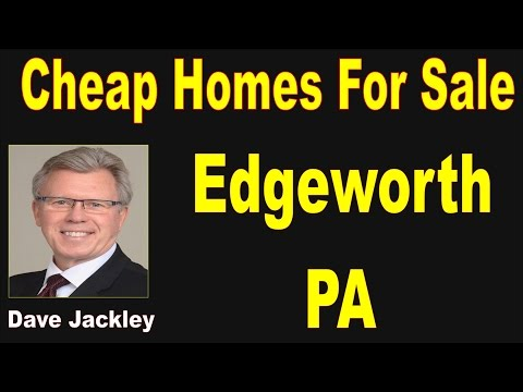 Cheap Homes For Sale Edgeworth PA