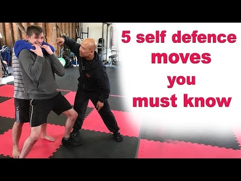 5 self defence moves you must know