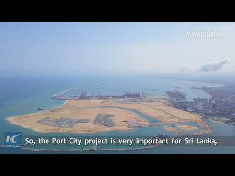 "China-funded Colombo Port City becoming ""shining pearl of Indian Ocean"""