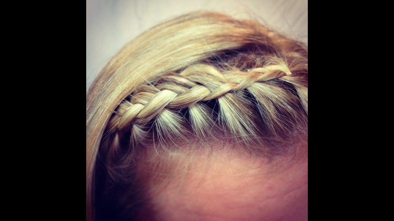 fringe bangs braid