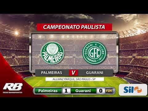 Campeonato Paulista - Palmeiras X Guarani - 20/02/2020 ...