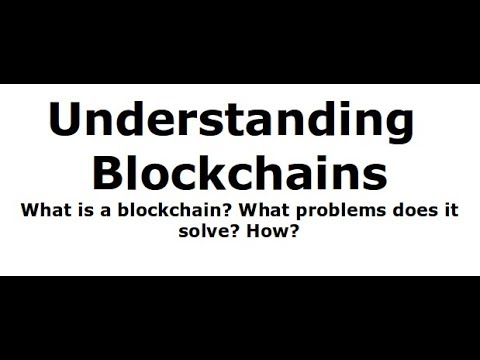 Blockchain Series #1: Introduction to Blockchains