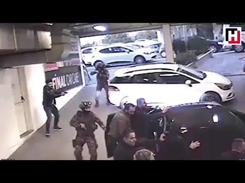 Şirinler Çetesi Lideri Mehmet Sabri Şirin'in yakalanma görüntüleri