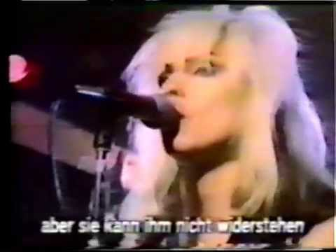 Blondie - Rifle Range/In The Flesh 1977 Early TV Promo Video