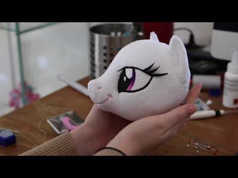Making of a Princess Celestia Plush by Nazegoreng
