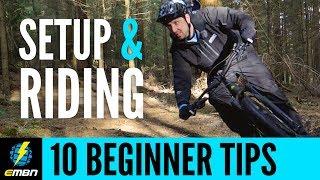 10 E-MTB Tips For Beginners | Bike Setup And Riding