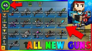 Pixel Gun 3D Hack 15.6.1 For Lvl 45, Event Weapons, All New Weapons, Pets & MORE!