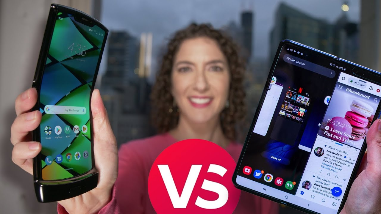 Motorola Razr vs Galaxy Fold: Full comparison