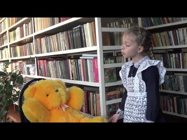 Изображение предпросмотра прочтения – ЕлизаветаШестопалова читает произведение «Мишка» С.Чёрного