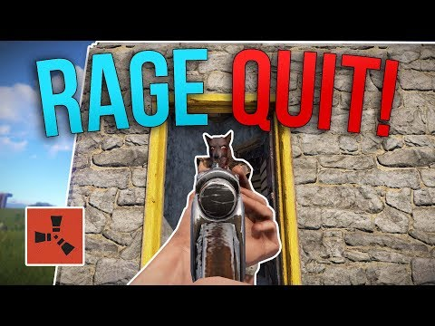 I MADE HIM RAGE QUIT!   Rust Solo Survival S3   #4