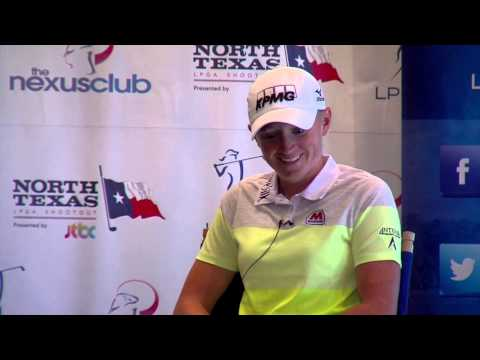 Stacy Lewis' Pre-Tournament Interview at the 2014 North Texas LPGA Shootout Presented by JTBC